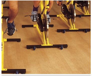 piso para aerobics